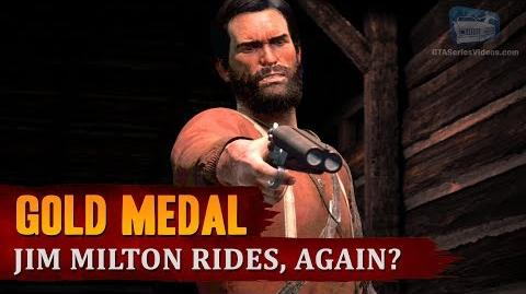 Red Dead Redemption 2 - Mission 93 - Jim Milton Rides, Again? Gold Medal