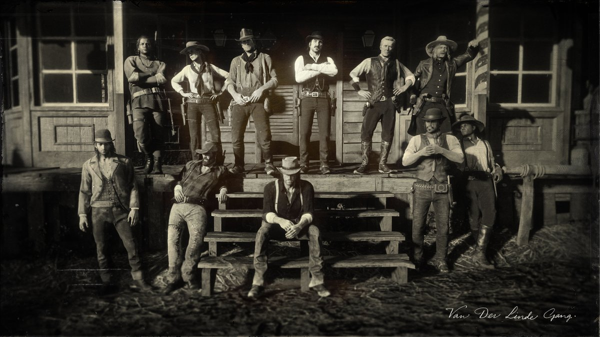 Image result for rdr2 vander linde gang