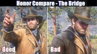 RDR2 Good Arthur vs Bad Arthur Bridge to Nowhere - Red Dead Redemption 2 PS4 Pro