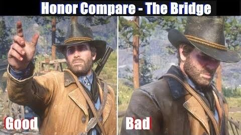 RDR2 Good Arthur vs Bad Arthur Bridge to Nowhere - Red Dead Redemption 2 PS4 Pro