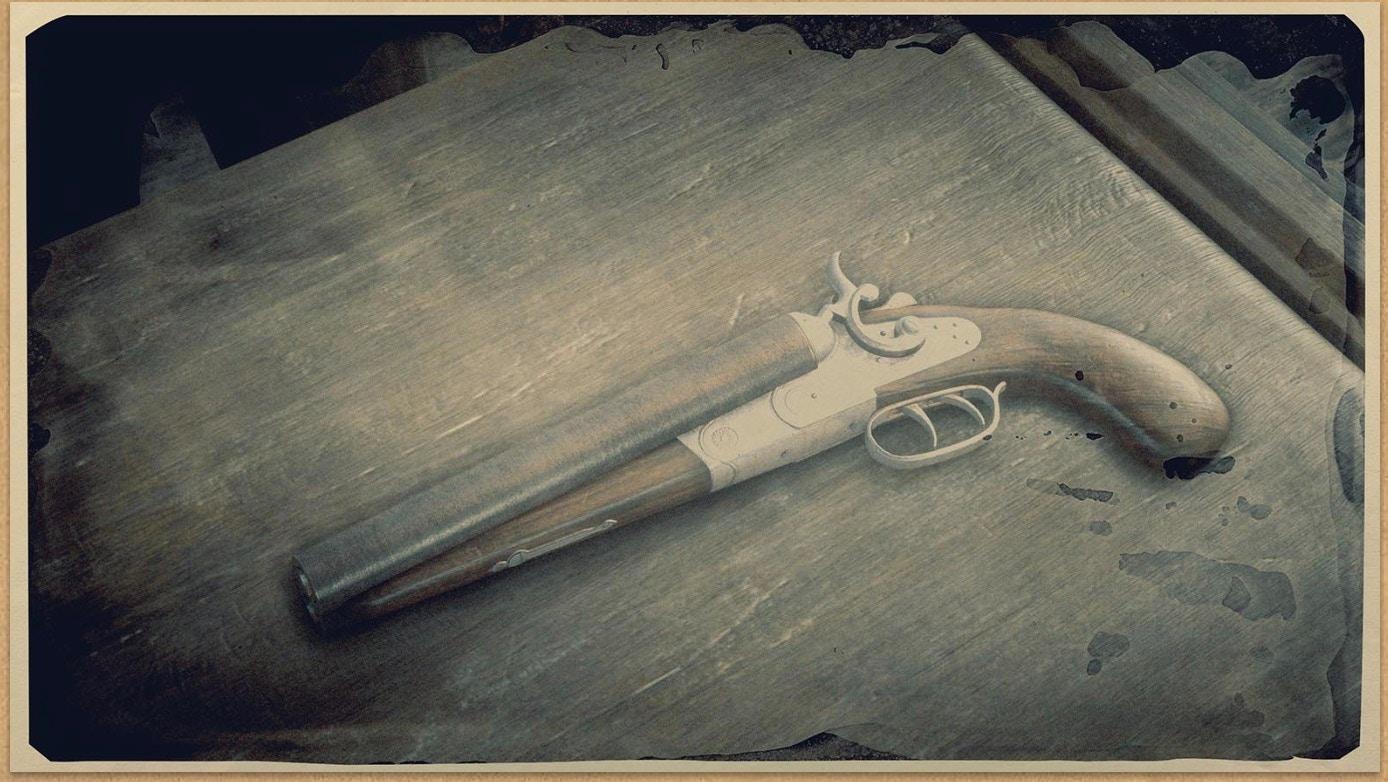 Sawed Off Shotgun Rdr 2 Red Dead Wiki Fandom Powered By Wikia