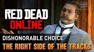 Red Dead Online - Mission 2 - The Right Side of the Tracks (Dishonorable) Gold Medal