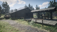 RDR2 Wallace Station Backside