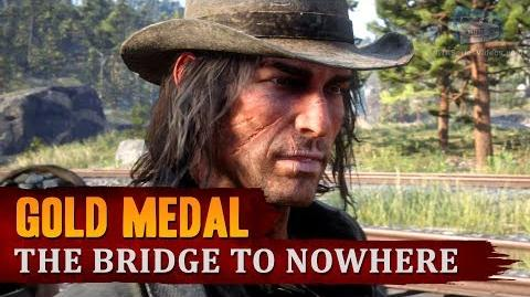 Red Dead Redemption 2 - Mission 80 - The Bridge to Nowhere Gold Medal