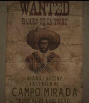 Wanted Oscar Navarro