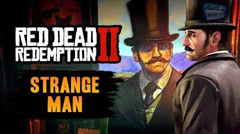 Red Dead Redemption 2 Easter Egg - The Strange Man