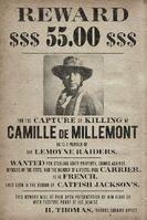 Camille de Millemont Wanted Poster