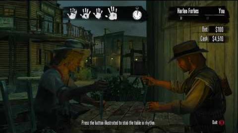 Red Dead Redemption - Five finger fillet MASTER