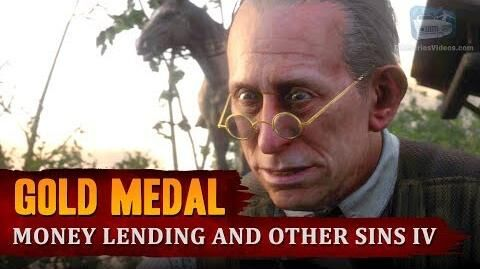 Red Dead Redemption 2 - Mission -27 - Money Lending and Other Sins IV -Gold Medal-