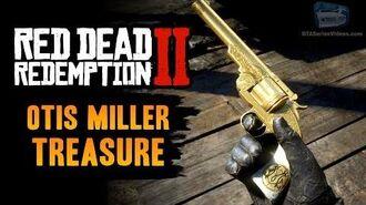 Red Dead Redemption 2 - Torn Mended Treasure Map (Otis Miller's Revolver)