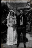 Sadie and Jake Alder wedding photo rdr2