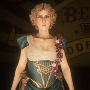 Miss Marjorie on stage rdr2