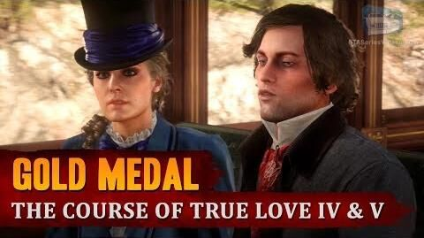 Red Dead Redemption 2 - Mission 72 - The Course of True Love IV & V Gold Medal