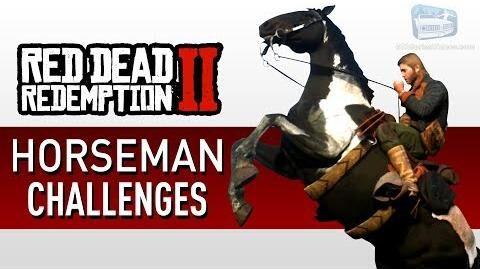 Red Dead Redemption 2 - Horseman Challenge Guide