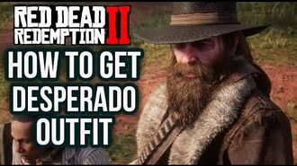 Red Dead Redemption 2 - How To Get The Desperado Outfit! Location Guide