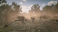 Central Union Railroad rdr2 workers