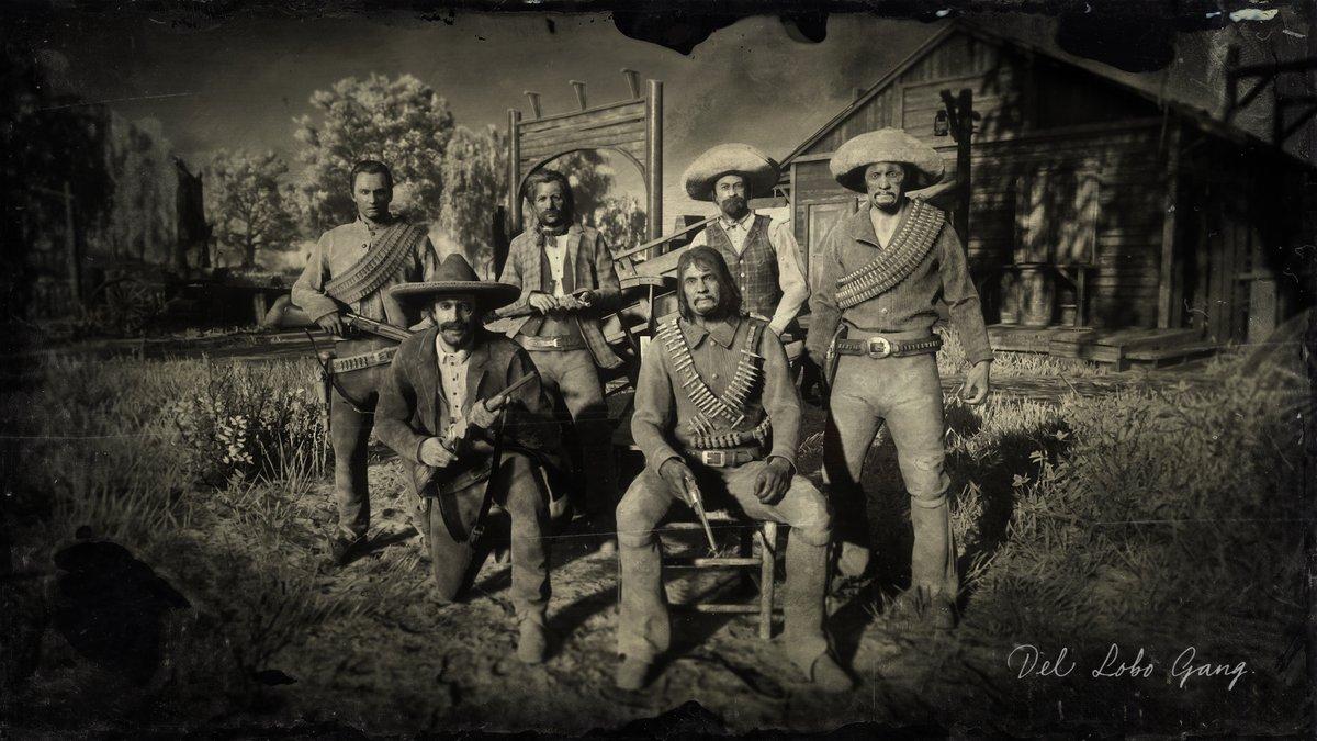 Del Lobo Gang Red Dead Wiki Fandom