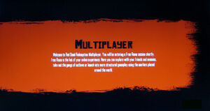 Rdr multiplayer opening