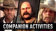 Red Dead Redemption 2 - All Companion Activities Friends With Benefits Trophy