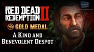 RDR2 PC - Mission 58 - A Kind and Benevolent Despot Replay & Gold Medal