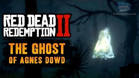 Red Dead Redemption 2 Easter Egg 5 - The Ghost of Agnes Dowd