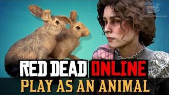 Red Dead Online - Play as a Rabbit -Harrietum Officinalis-