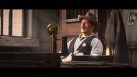 Sheriff Palmer in Online during a cutscene