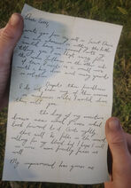 Letter to Tom from Colm page1