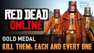 Red Dead Online - Mission 8 - Kill Them, Each and Every One Gold Medal