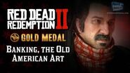 RDR2 PC - Mission 55 - Banking, The Old American Art Replay & Gold Medal