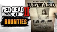 Red Dead Redemption 2 All Bounties -RDR2 Bounty Hunter-