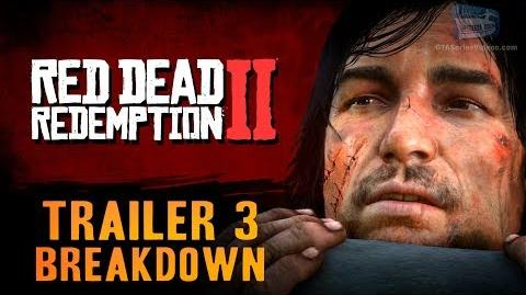 Red Dead Redemption 2 - Trailer 3 Breakdown
