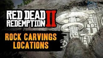 Red Dead Redemption 2 All Rock Carvings Locations - Geology for Beginners (RDR2)
