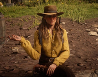 RDR2 Sadie at CP