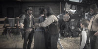 Charles leaving rdr2