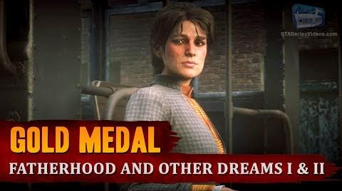 Red Dead Redemption 2 - Mission 46 - Fatherhood and Other Dreams I & II Gold Medal