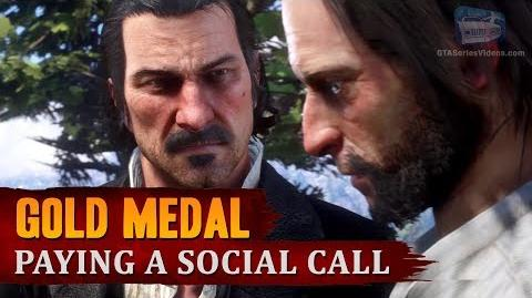 Red Dead Redemption 2 - Mission 11 - Paying a Social Call Gold Medal