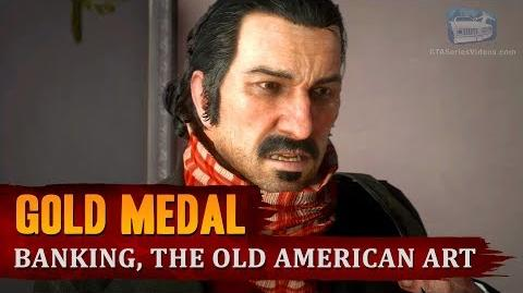 Red Dead Redemption 2 - Mission 57 - Banking, The Old American Art Gold Medal