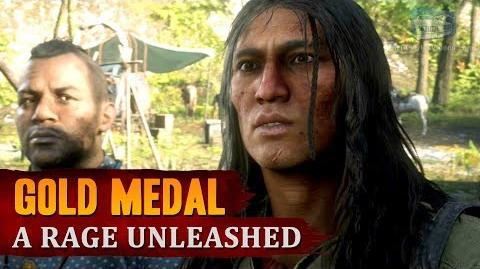 Red Dead Redemption 2 - Mission 74 - A Rage Unleashed Gold Medal
