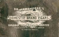 Rdr advert hawthornes cigars
