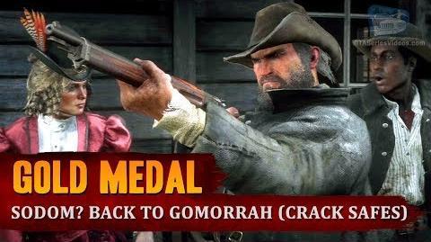 Red Dead Redemption 2 - Mission 36 - Sodom? Back to Gomorrah (Crack Safes) Gold Medal