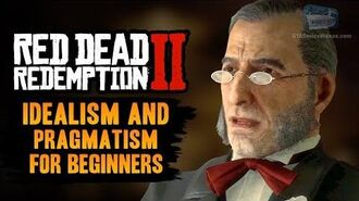 Red Dead Redemption 2 Stranger Mission - Idealism and Pragmatism for Beginners