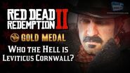 RDR2 PC - Mission -5 - Who the Hell is Leviticus Cornwall? -Replay & Gold Medal-