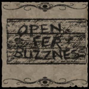 Cartel de abierto
