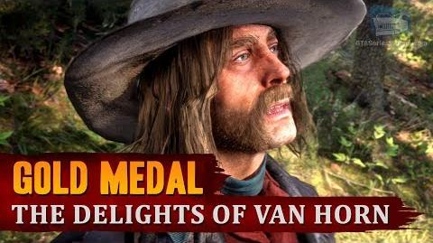 Red Dead Redemption 2 - Mission -78 - The Delights of Van Horn -Gold Medal-
