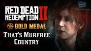 RDR2 PC - Mission 64 - That's Murfree Country Replay & Gold Medal