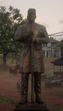 Hobart Crawley Statue