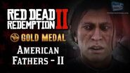 RDR2 PC - Mission 49 - American Fathers II Replay & Gold Medal