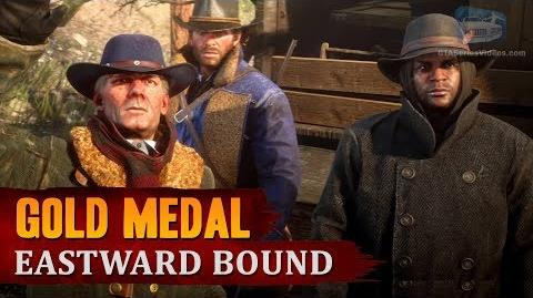 Red Dead Redemption 2 - Mission -6 - Eastward Bound -Gold Medal-