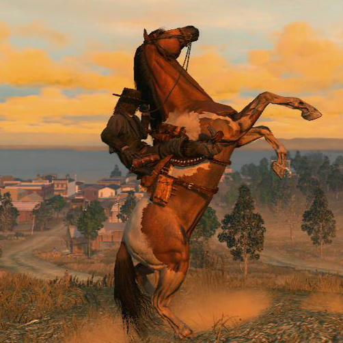 Painted Standardbred Red Dead Redemption